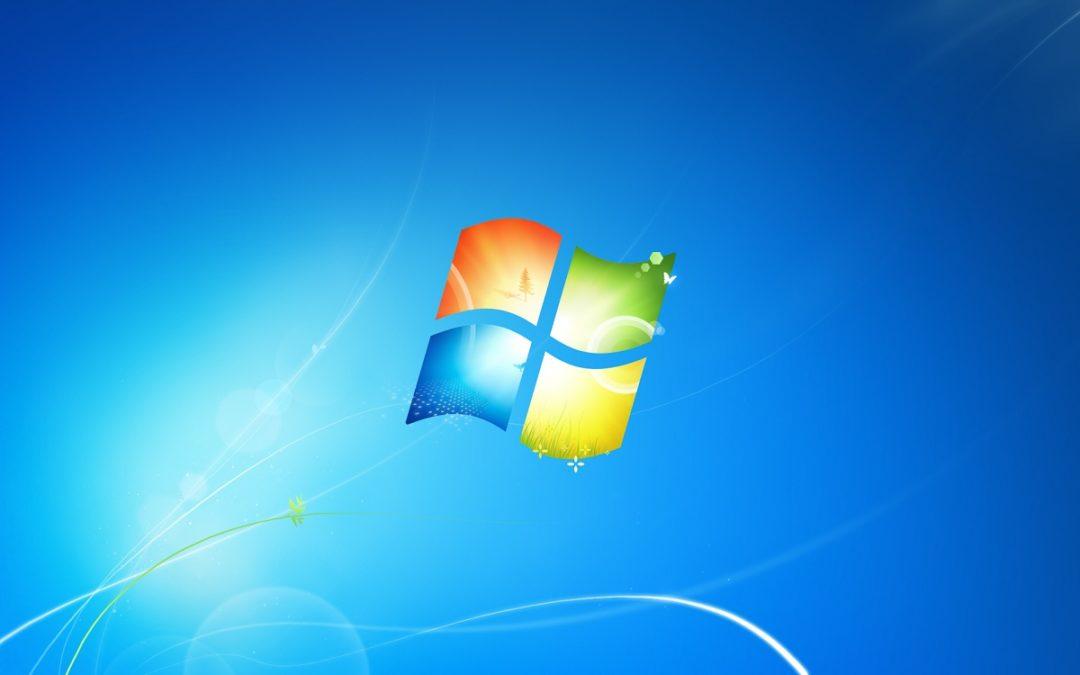 14 Janvier 2020, la fin pour Windows 7: fin des mises à jour.